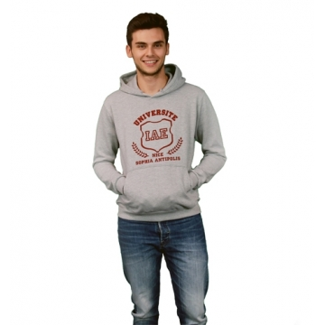 Sweat IAE Gris / Rouge Homme